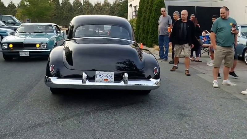 Very cool Pro street 1950 Oldsmobile hot rod a couple of Camaros convertible Falcon etc