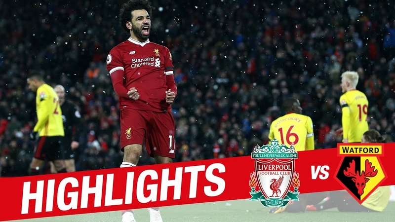 Highlights Liverpool v Watford Sensational Salah scores four at Anfield