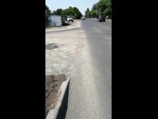 Попытка обратить внимание на целесообразность установки пешеходных переходов в районе Мать и Дитя. Инцидент Бийск