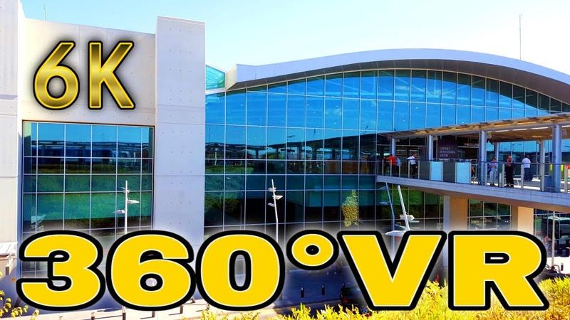 360° VR Secret Visit Larnaca International Airport Walkin Virtual Tour North Cyprus 6K 3D Reality 4K