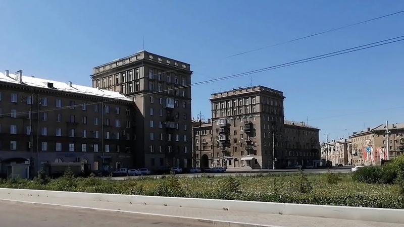 Магнитогорск большая субботняя прогулка по Ленинскому району 20 06 2020