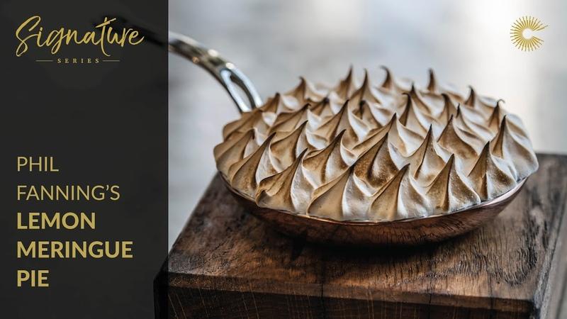 Phil Fannings Lemon Meringue Pie with White Chocolate Biscuit Base