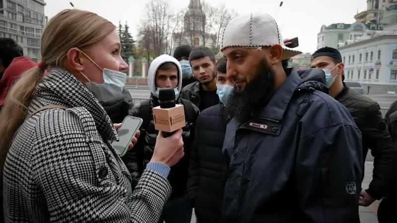 Мусульмане бесчинствуют в Москве __ Светское государство