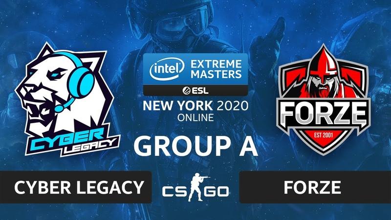 CSGO - forZe vs. Cyber Legacy [Nuke] Map 2 - IEM New York 2020 - Group A - CIS