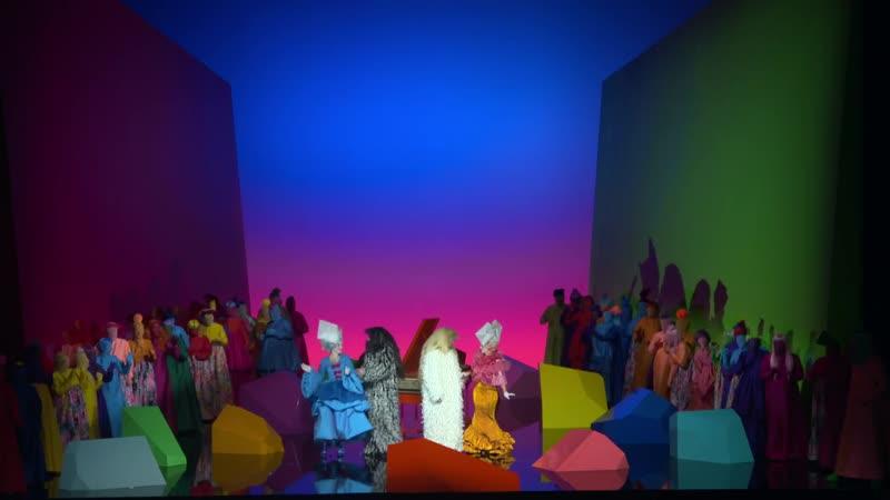 Моцарт Так поступают все Mozart Cosi Fan Tutte Staatsoper Hamburg 08 09 2018 Act II
