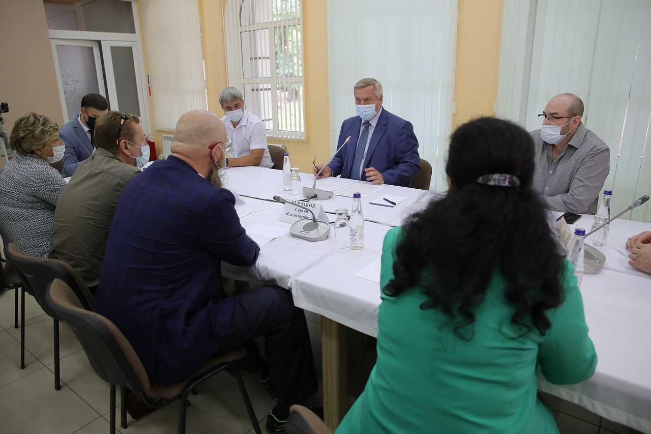Василий Голубев предложил сохранить и привести в порядок таганрогскую рощу «Дубки»