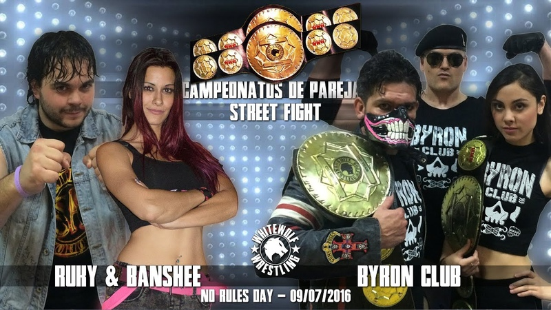FREE MATCH Campeonatos Parejas Ruky Banshee vs Byron Club © No Rules Day 2016 09 07 2016