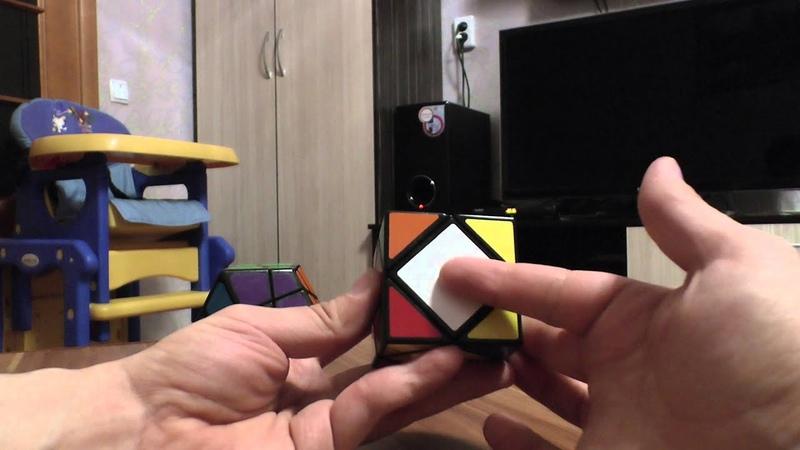 Skewb dodecahedron ( Stone skewb ) Скьюб додекаэдр, сборка ч. 1