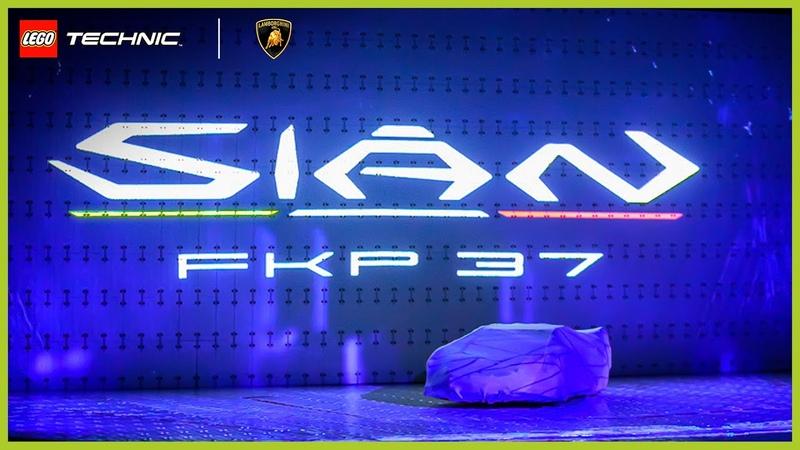 It's finally here! | LEGO Technic Lamborghini Sián FKP 37 REVEAL