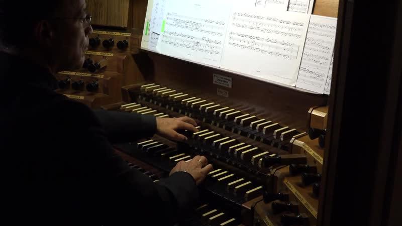 106 1 J S Bach Gottes Zeit ist die allerbeste Zeit BWV 106 1 Sonatine E♭ major Actus Tragicus Andreas Schmidt organ