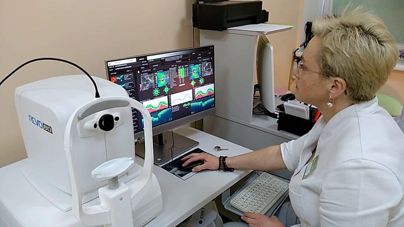 Офтальмология нового поколения в Сонодин Комплексная диагностика зрения.