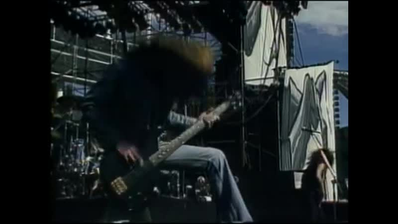 Metallica For Whom the Bell Tolls Live Cliff Em All