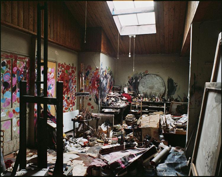 Мастерская Фрэнсиса Бэкона, известного английского художника-экспрессиониста.