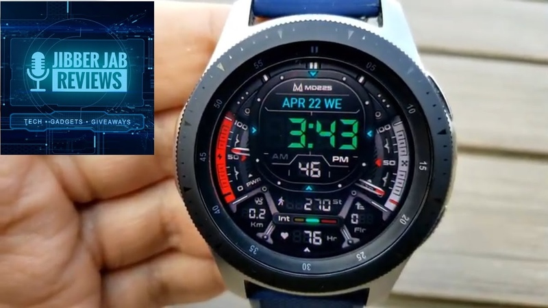HUGE Coupon Giveaway Samsung Galaxy Watch Active 2 Galaxy Watch Face by Matteo Dini