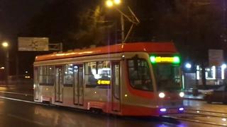 """Трамвай """"3701 по 40"""" Петербурга 10-163: 71-623-03 (УКВЗ) б.3701 по №40 ()"""