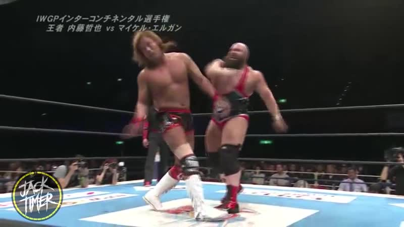 Tetsuya Naito vs Michael Elgin Highlights New Beginning in Osaka 2017