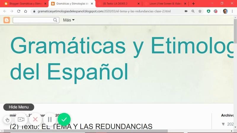 (2) Texto EL TEMA Y LAS REDUNDANCIAS GramaticasE
