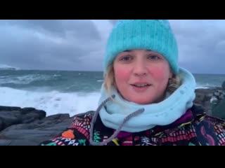 Как нас накрыло волной на берегу Северного Ледовитого океана в Териберке