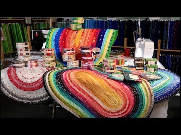 Easy Fabric Strip Rug