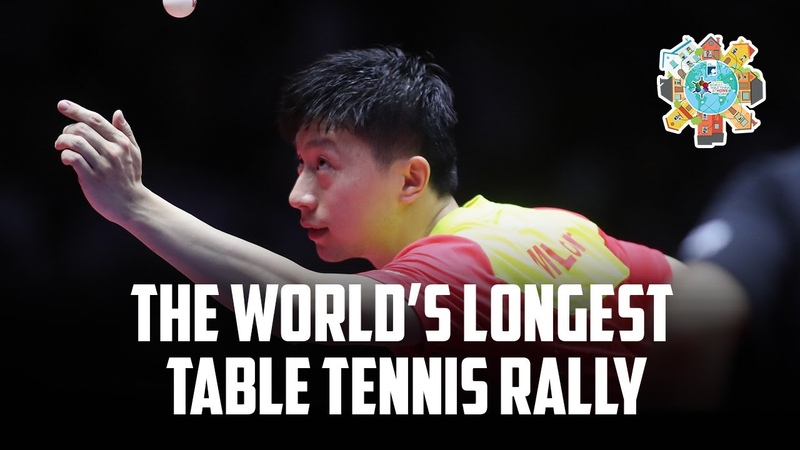 World's Longest Table Tennis Rally EVER 2020 World Table Tennis Day