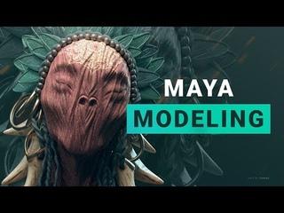 Modeling in Maya Лекция 2