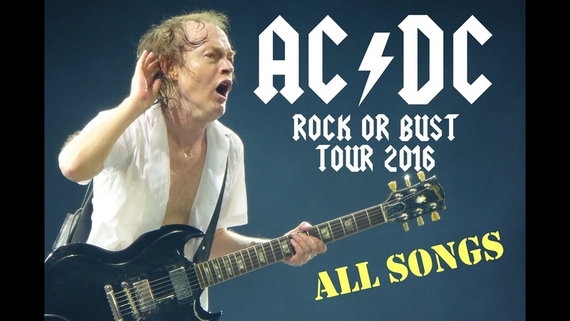 AC/DC - ROCK OR BUST-TOUR 2016 live - Full concert