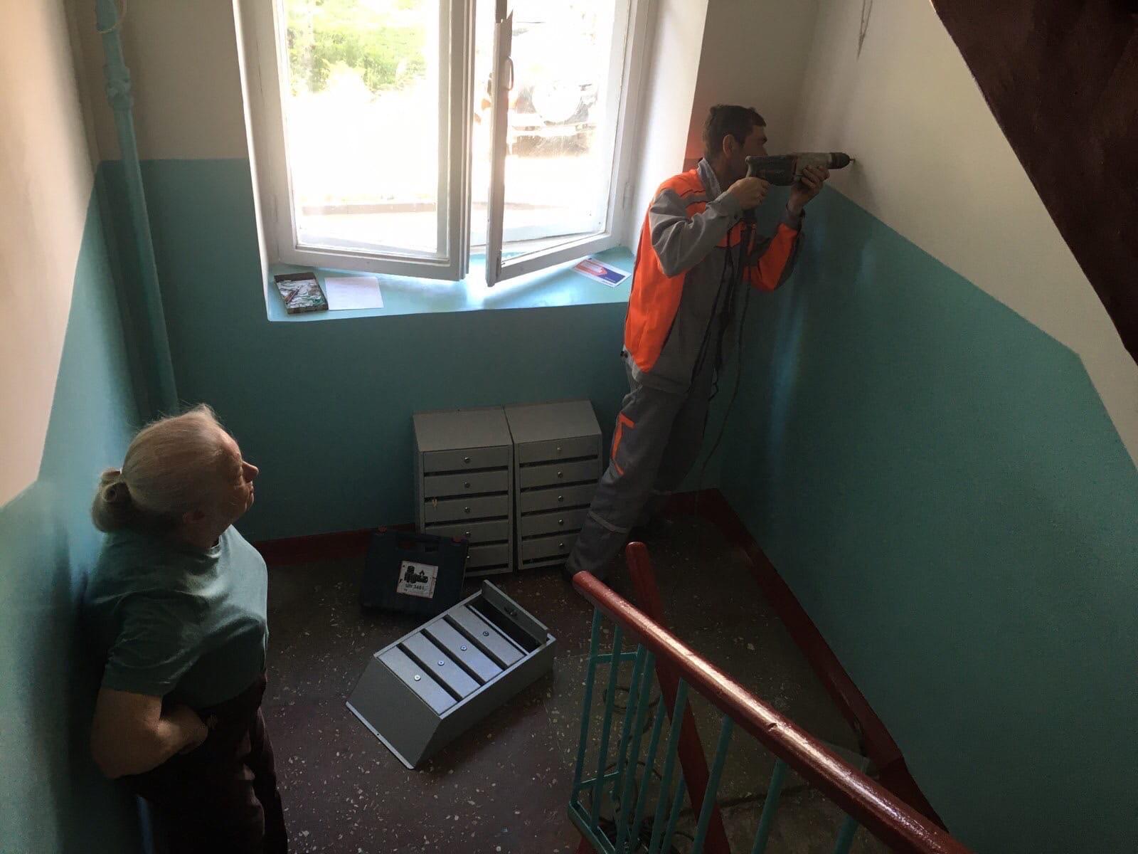 Октябрьский проспект дом 34 установка почтовых ящиков