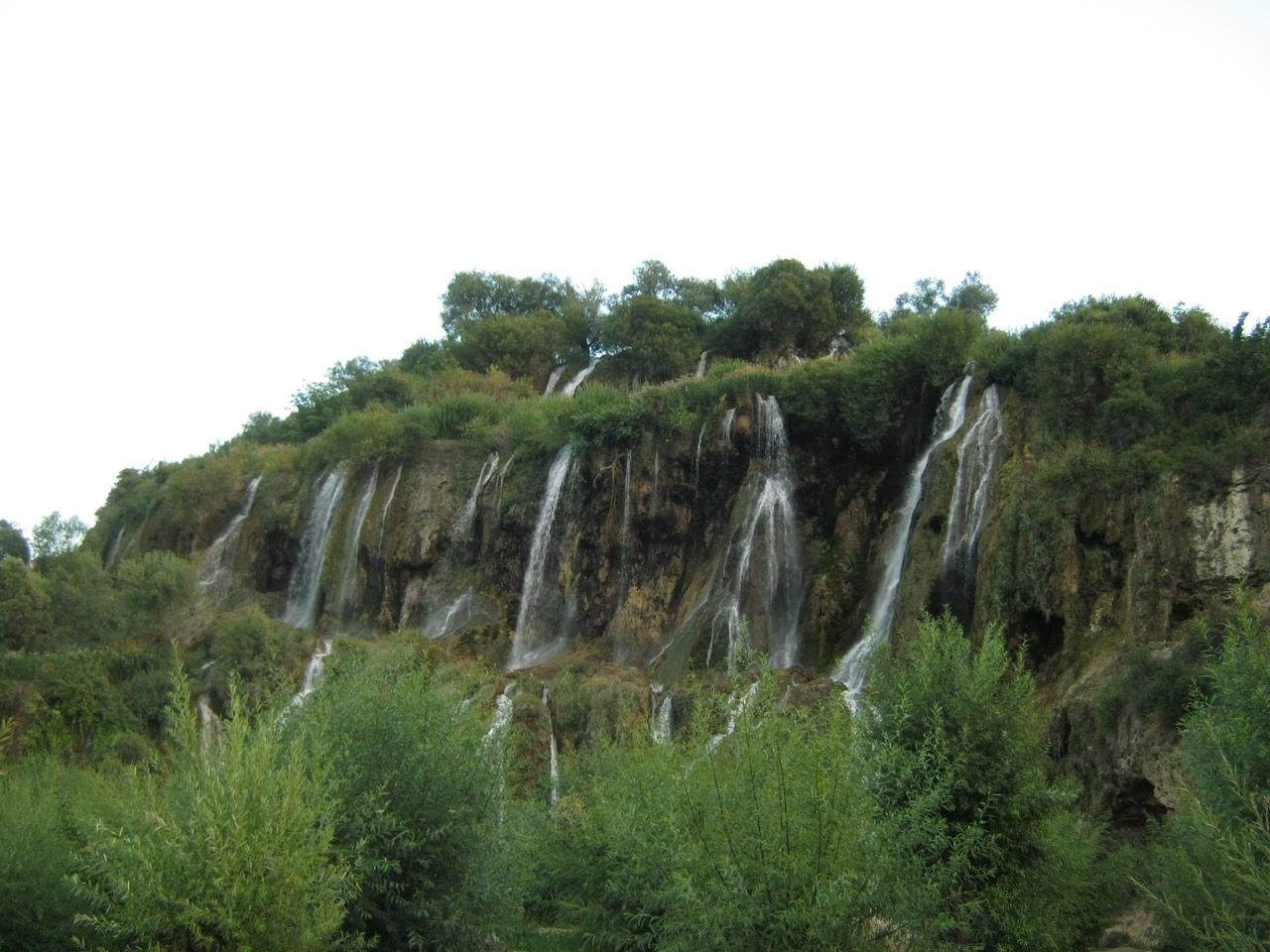 три уровня водопада Гирлевик