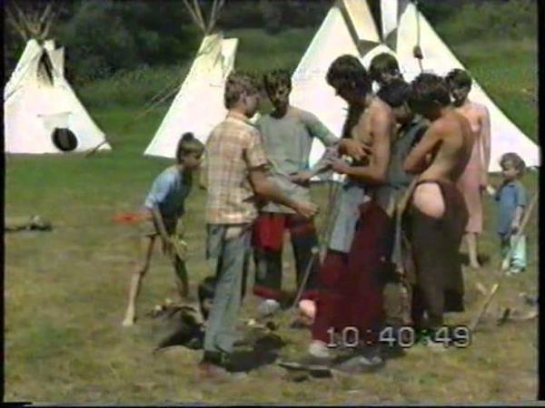 Letní tábor 1992 Štíty druhý díl Summer Camp 1992 Shields part 2