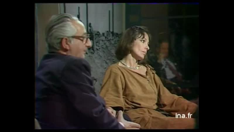 Мари Лафоре в передаче «Ecrivains cinéastes ou cinéastes écrivains» (1981)
