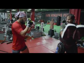 Jorge Masvidal Boxing and Kickboxing training routine