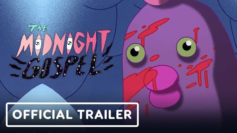 Netflix's The Midnight Gospel: Season 1 Trailer (Pendleton Ward, Duncan Trussell)