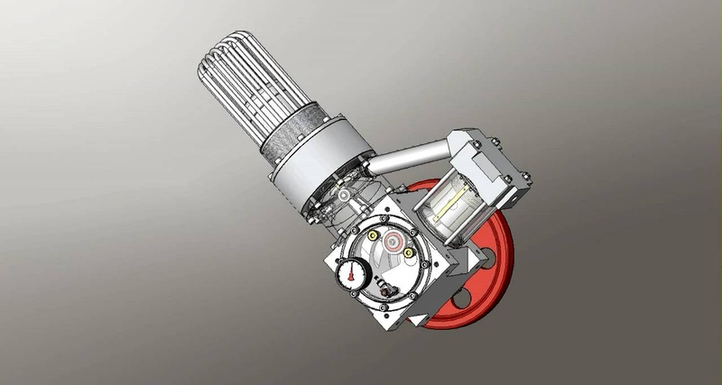 Animation of the ST05G-CNC Experimental Stirling Engine