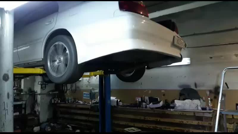 Тойота Чайзер после восстановления АКПП