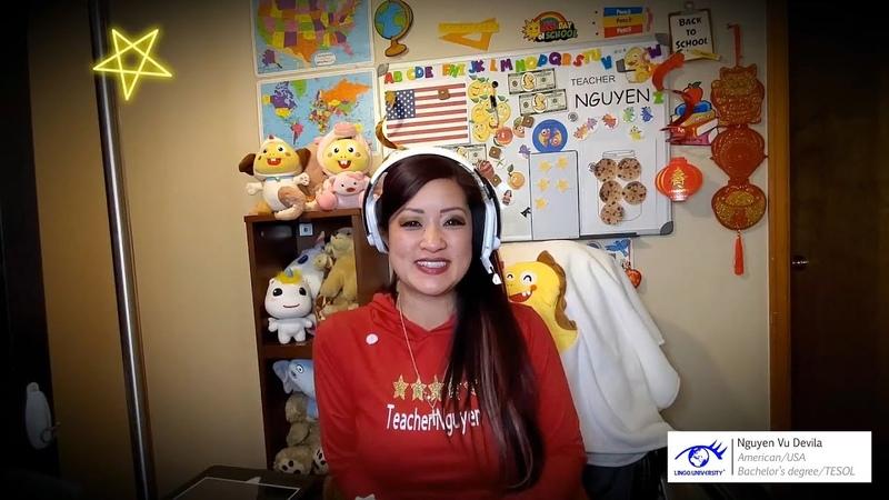 Teacher Nguyen Vu Devila @ Learning English for Kids