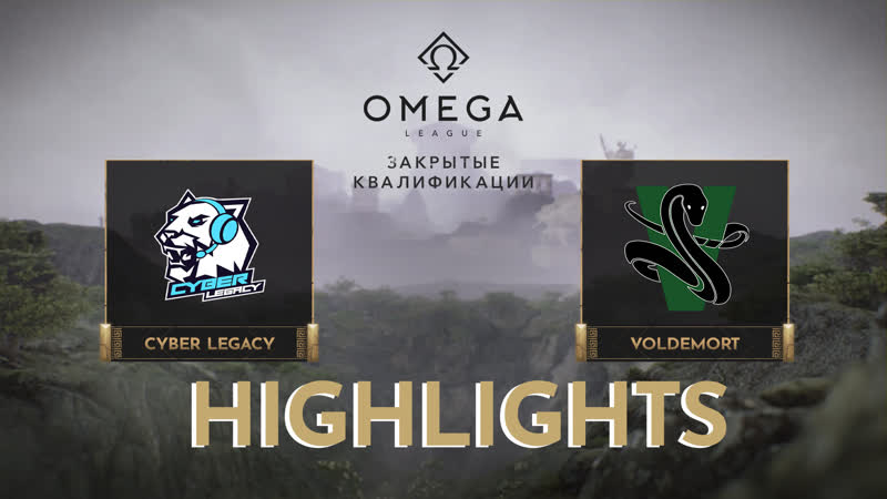 Cyber Legacy vs Voldemort Highlights OMEGA League Europe CQ