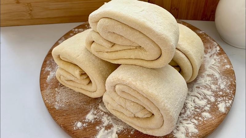 Слоеное тесто Очень удачное Puff pastry