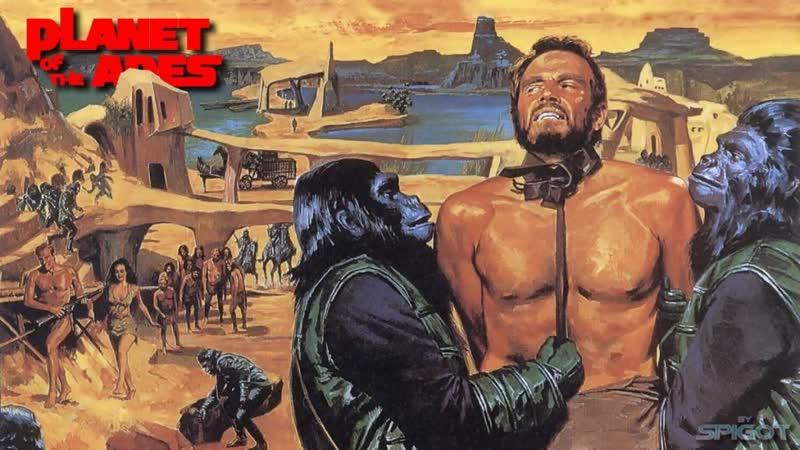 Live Киношиза │Планета обезьян Planet of the Apes 1968 12
