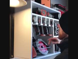 Шкаф-органайзер для инструментов -