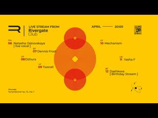 Motion Lab: Mechanism Live Stream at Studio Rivergate Club